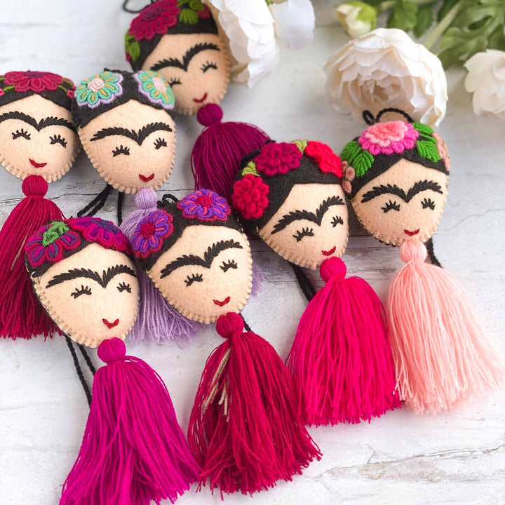 Pink Frida Tassels for the Frida Lover