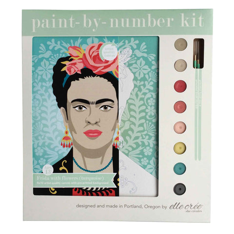 Frida Painting Canvas Kit