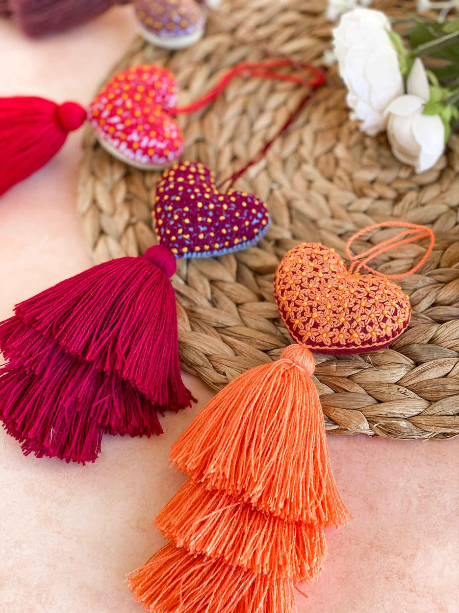 Pink Collection - Rococo Heart Tassels
