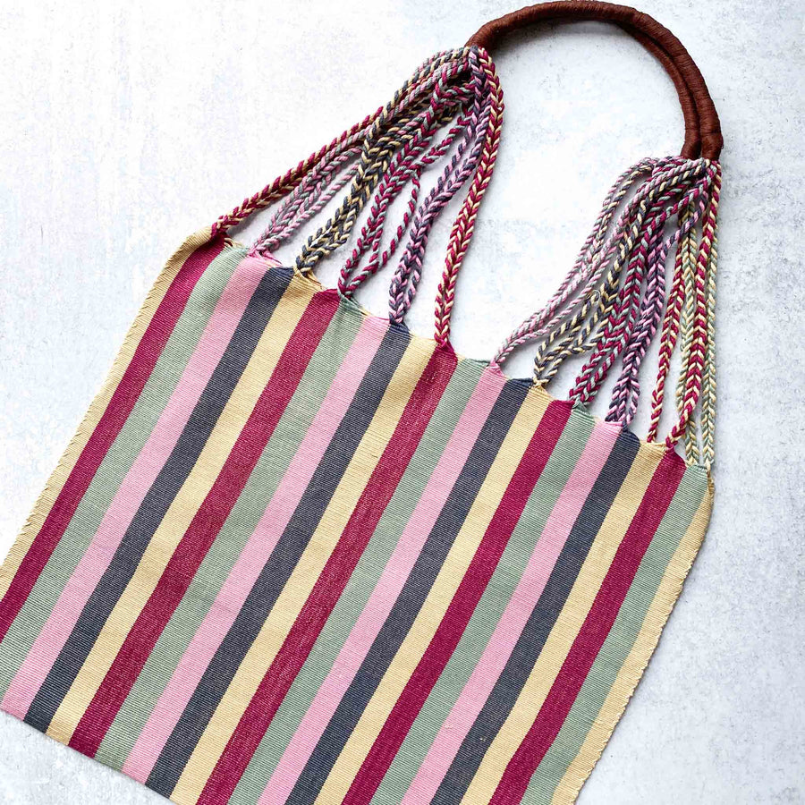 Handwoven-Loom-Tote-Bag-in-Cherry-Stripes