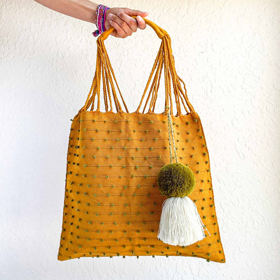 Handwoven-Loom-Tote-Bag-in-Mustard-and-Olive