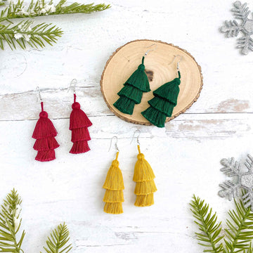 Holiday Tassel Earring Gift Set ($48 value)