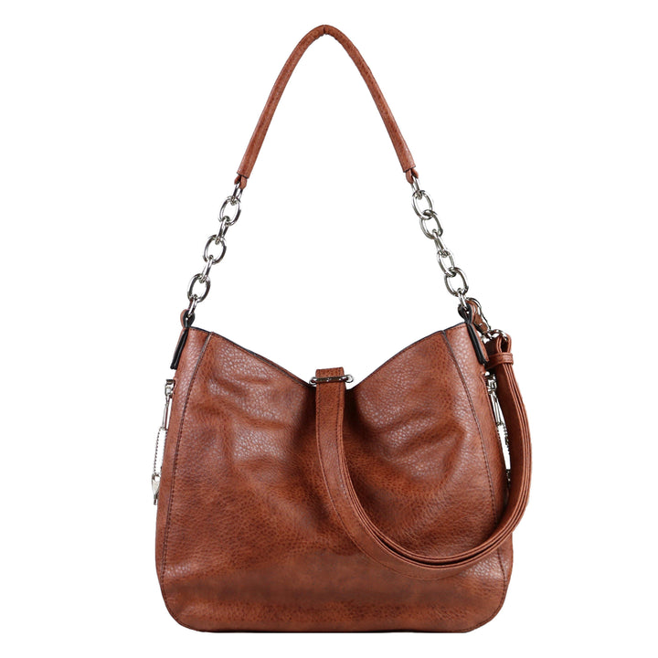 Concealed Carry Ashley Chain Hobo by Lady Conceal