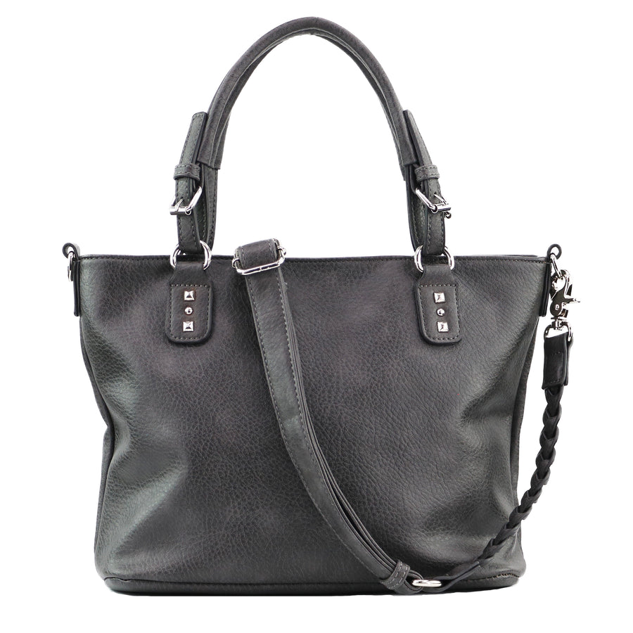 Concealed Carry Ella Braided Tote