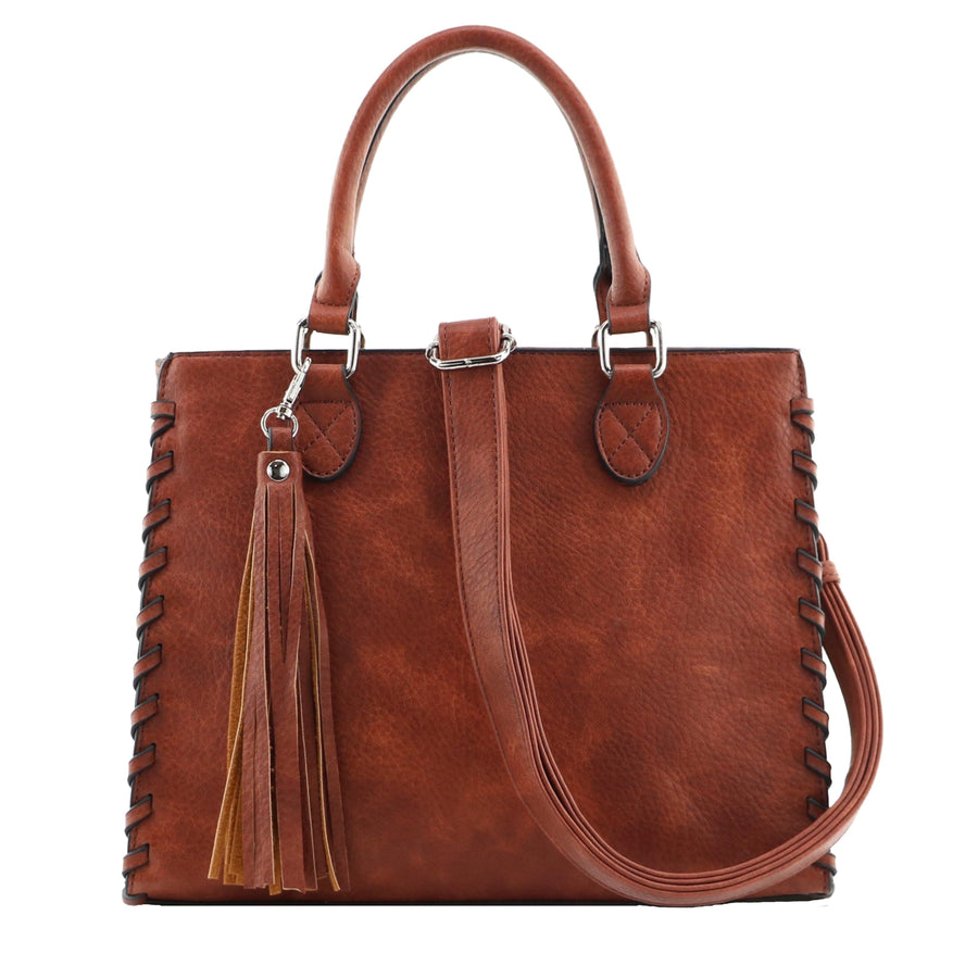 Concealed Carry Laced Ann Satchel by Lady Conceal