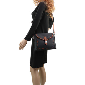 Concealed Carry Evelyn Leather Crossbody by Lady Conceal