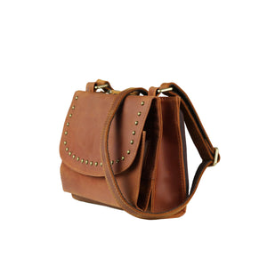 Concealed Carry Raelynn Leather Crossbody Organizer by Lady Conceal