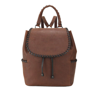 Concealed Carry Allie Leather Backpack by Lady Conceal