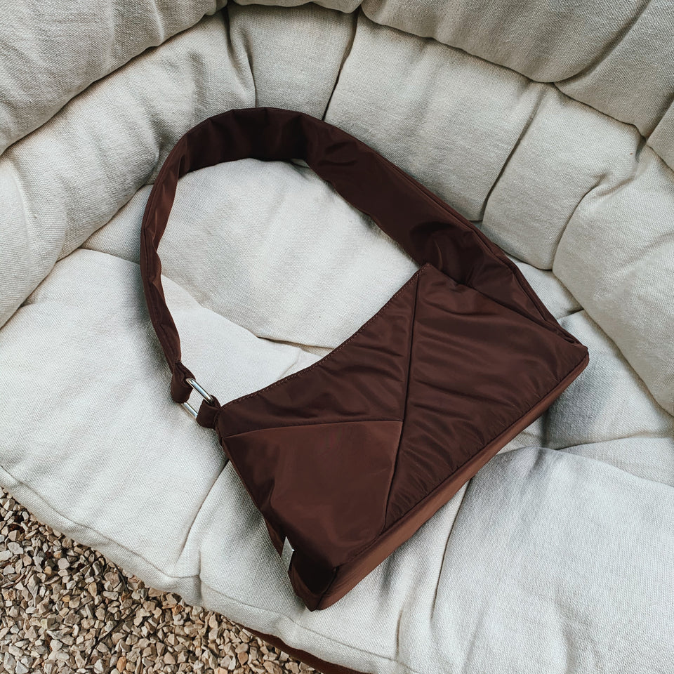 Cathari Puff Bag Brown