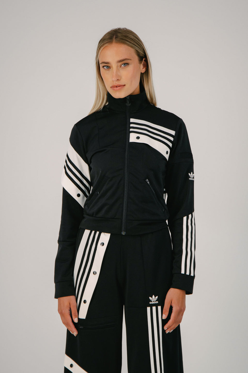 DC Track Top Black
