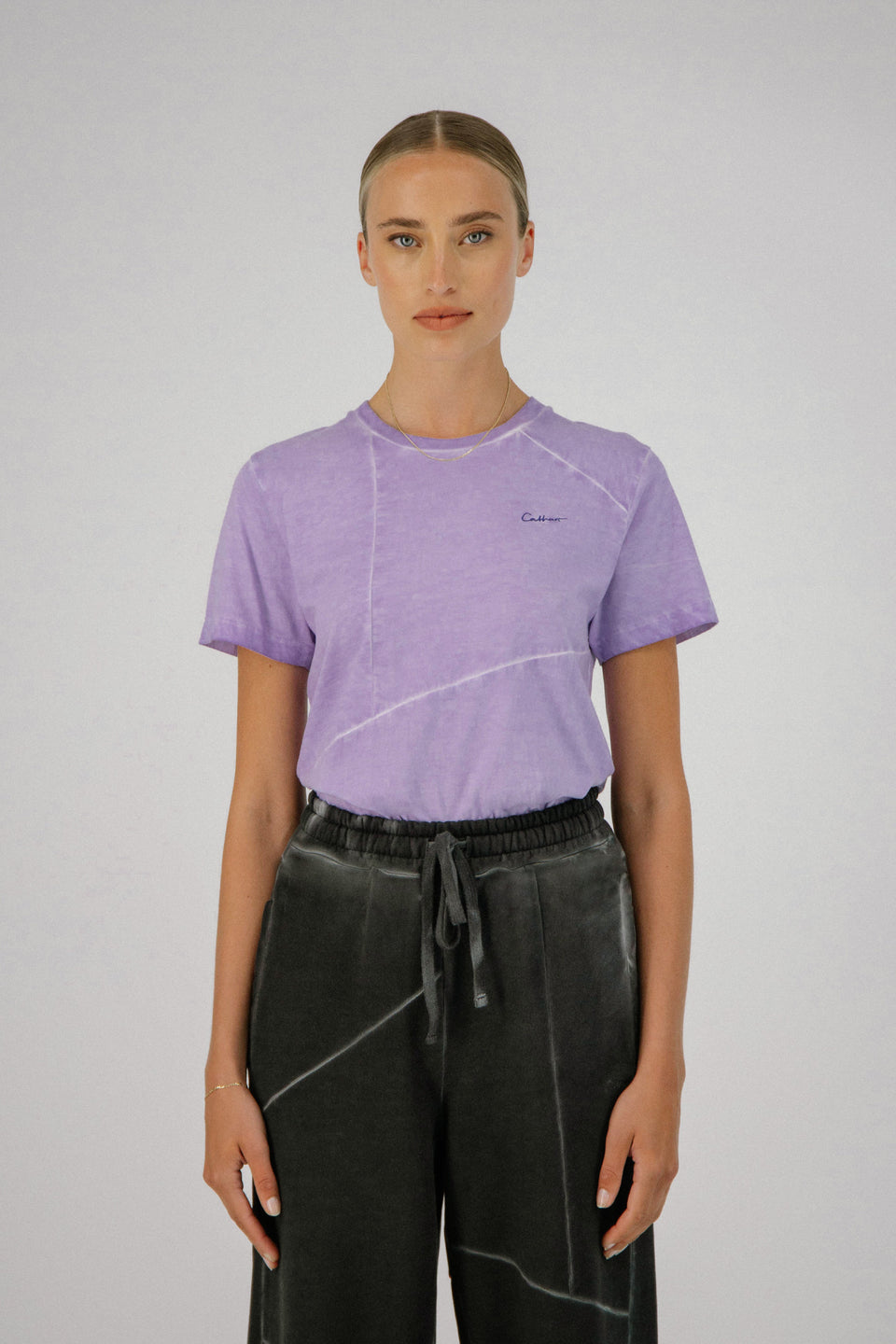 Deconstructed Tee Lavender