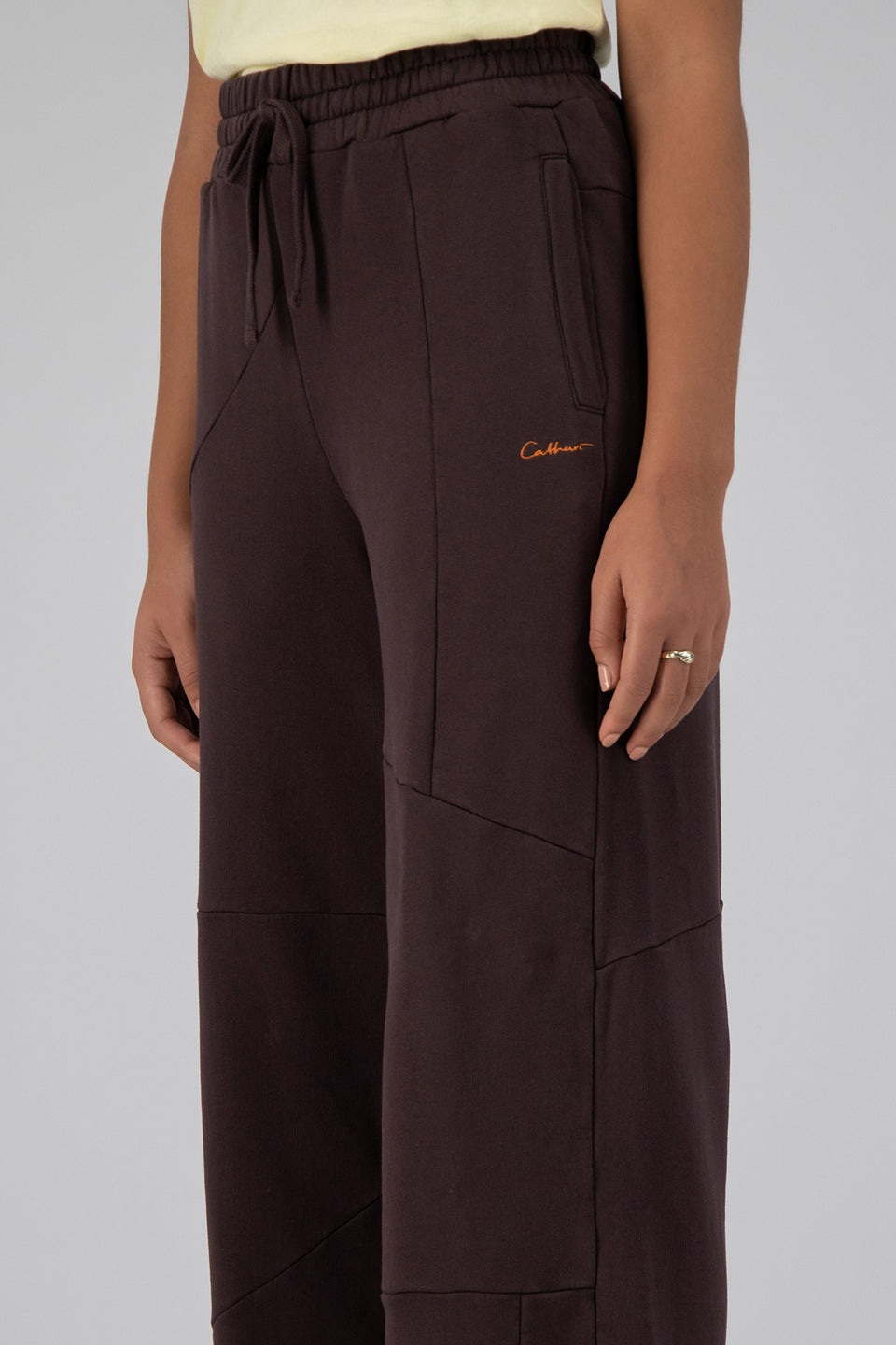 Deconstructed Lounge Pants Mid-Century Brown