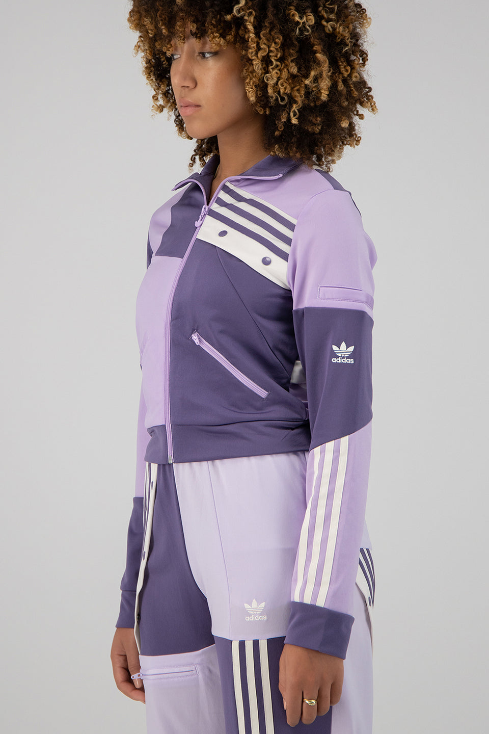 DC Track Top Tech Purple