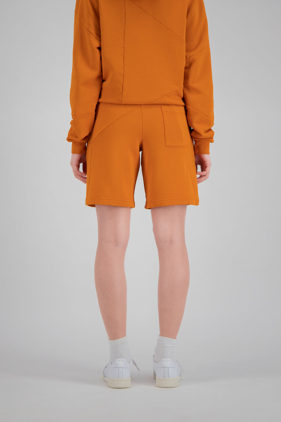 RSFxDC Decontructed Terry Shorts Rusty Orange