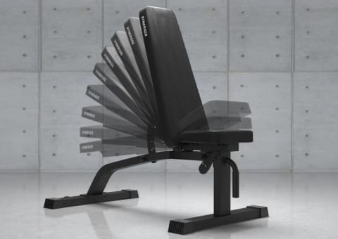 Synergee Adjustable Incline/Decline Weight Bench
