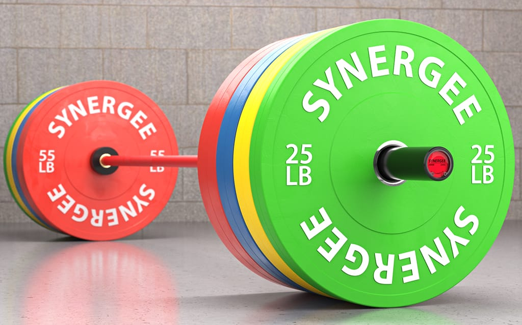 Synergee Color Rubber Bumper Plates