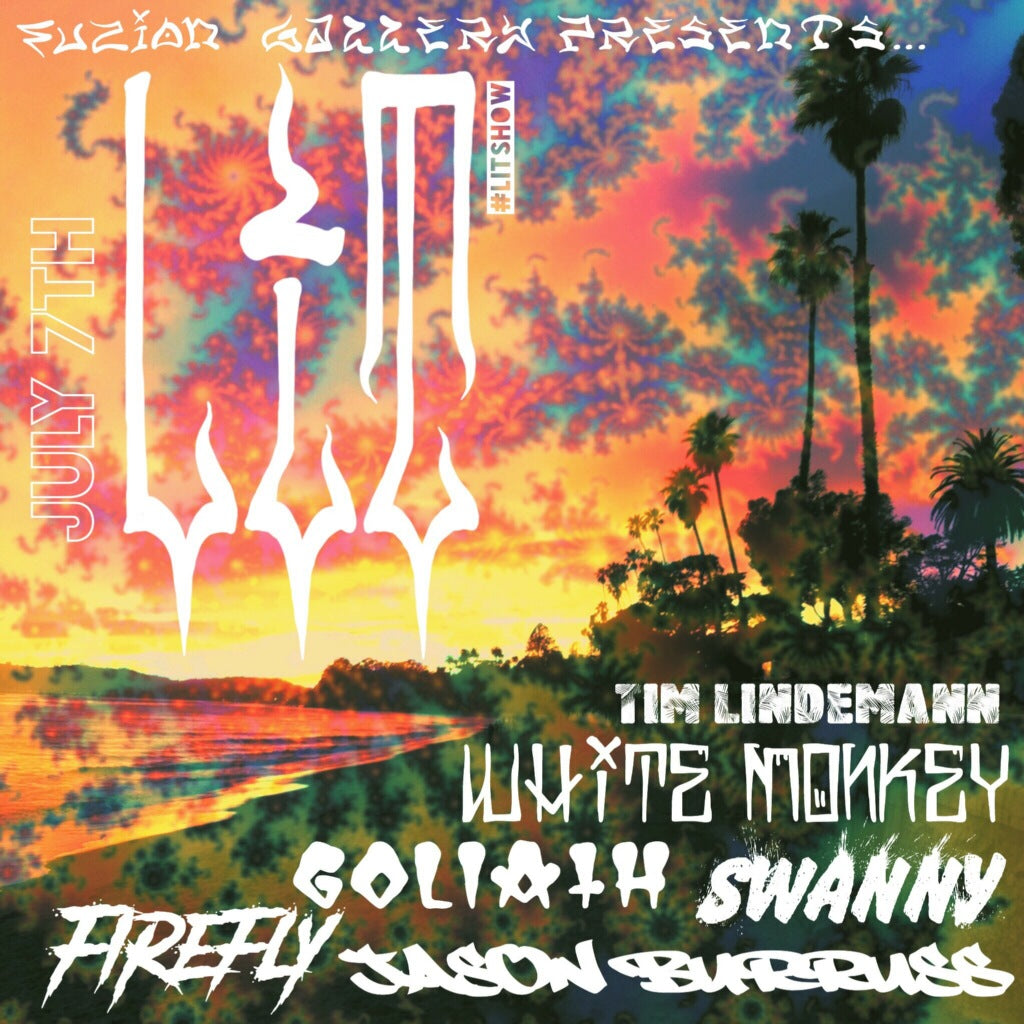 LIT Show flyer Tie Dye Version