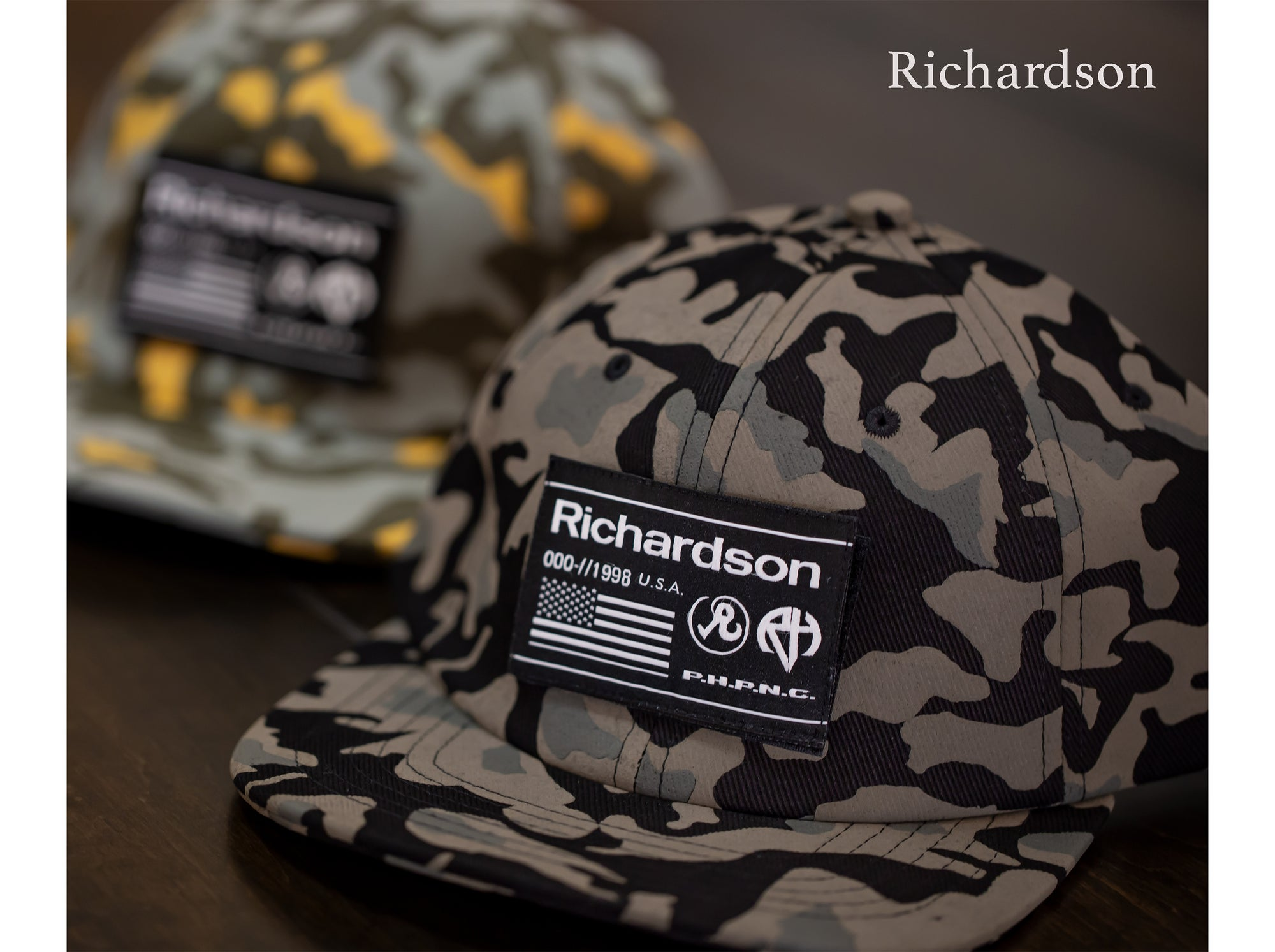 Richardson Camo Caps
