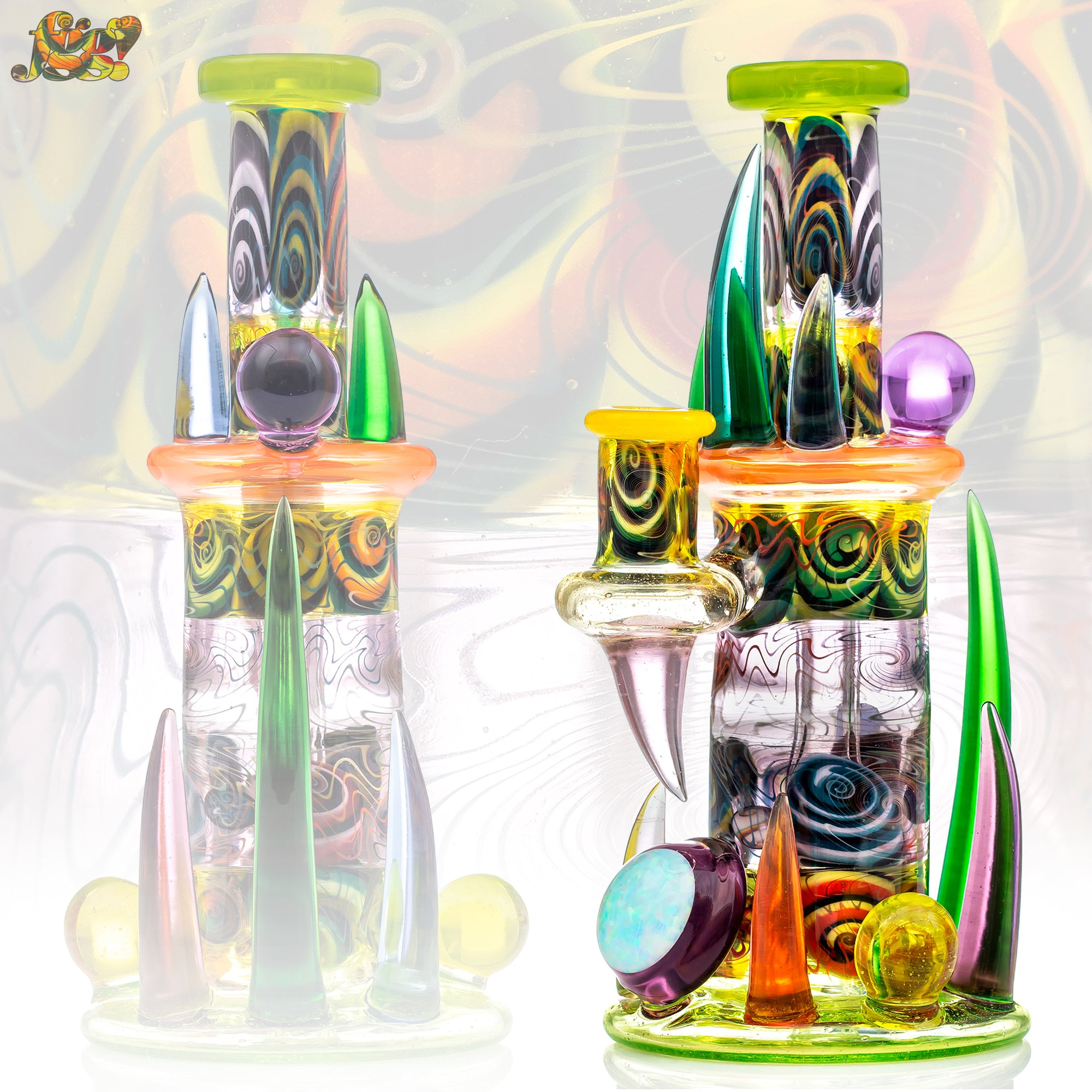 Goliath x Dillinger Heady Glass Edit