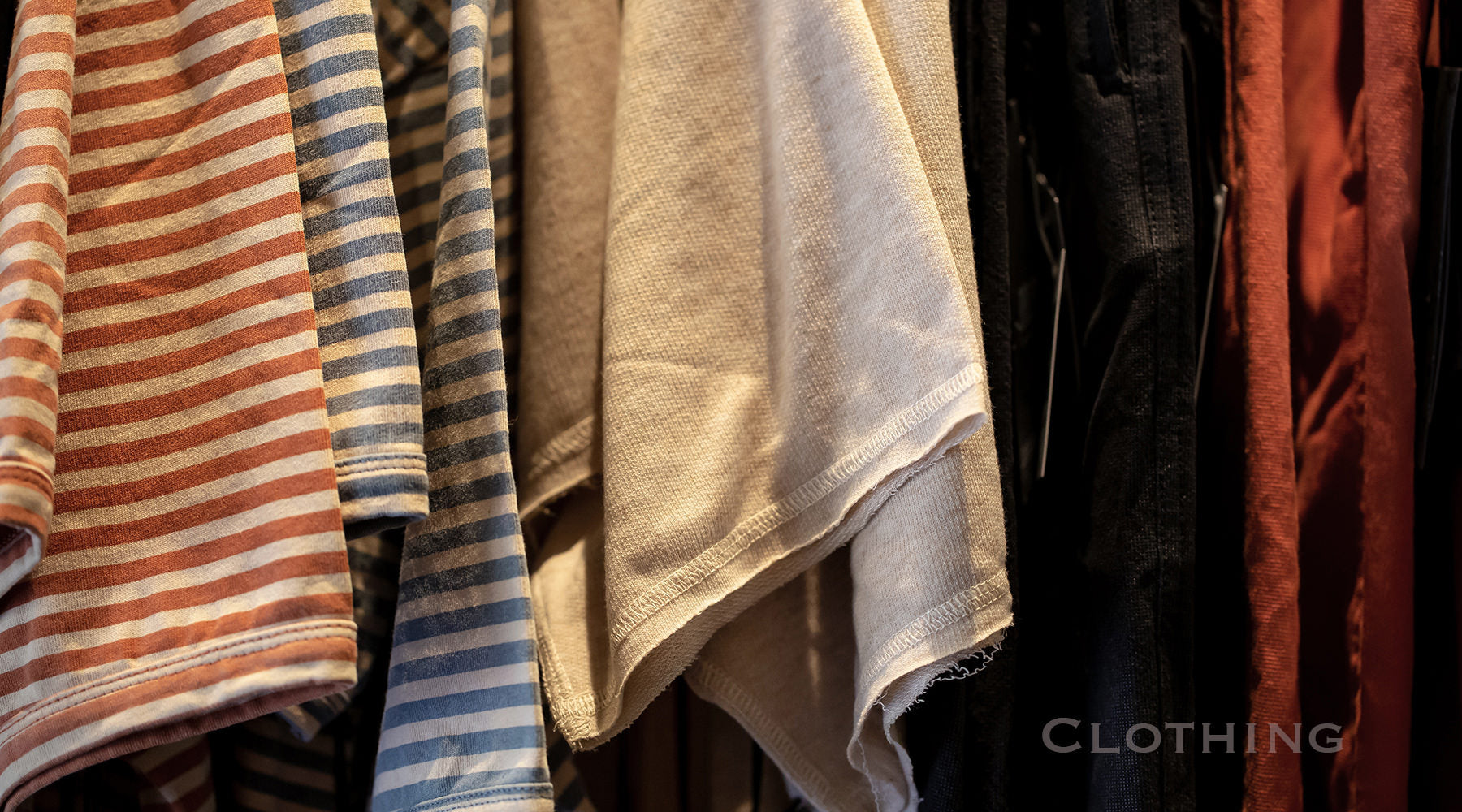Photo of Assorted Clothing Items as a banner Image