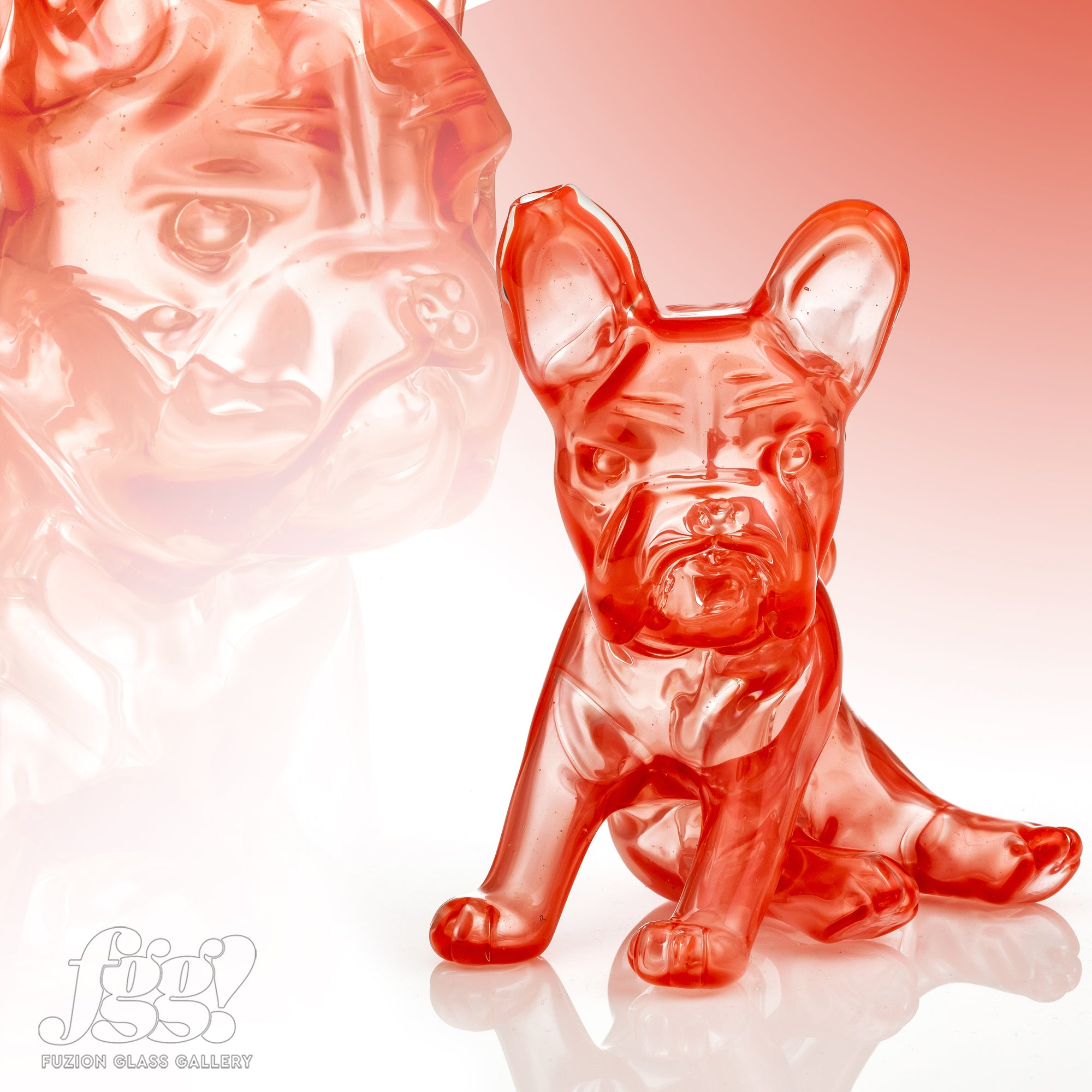 Swanny Glass Sriracha French Bulldog Heady Piece