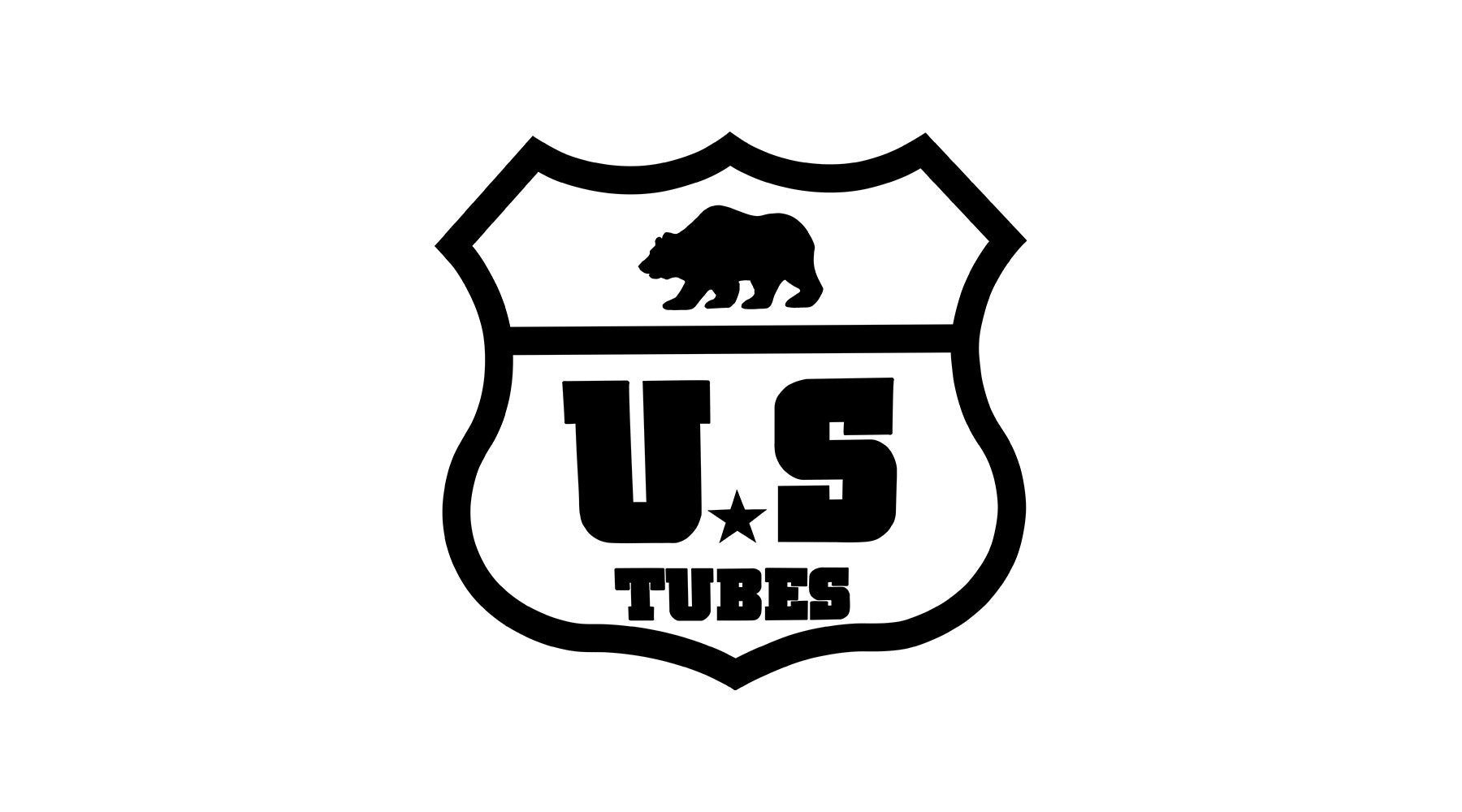 US TUBES Highway Logo in Black