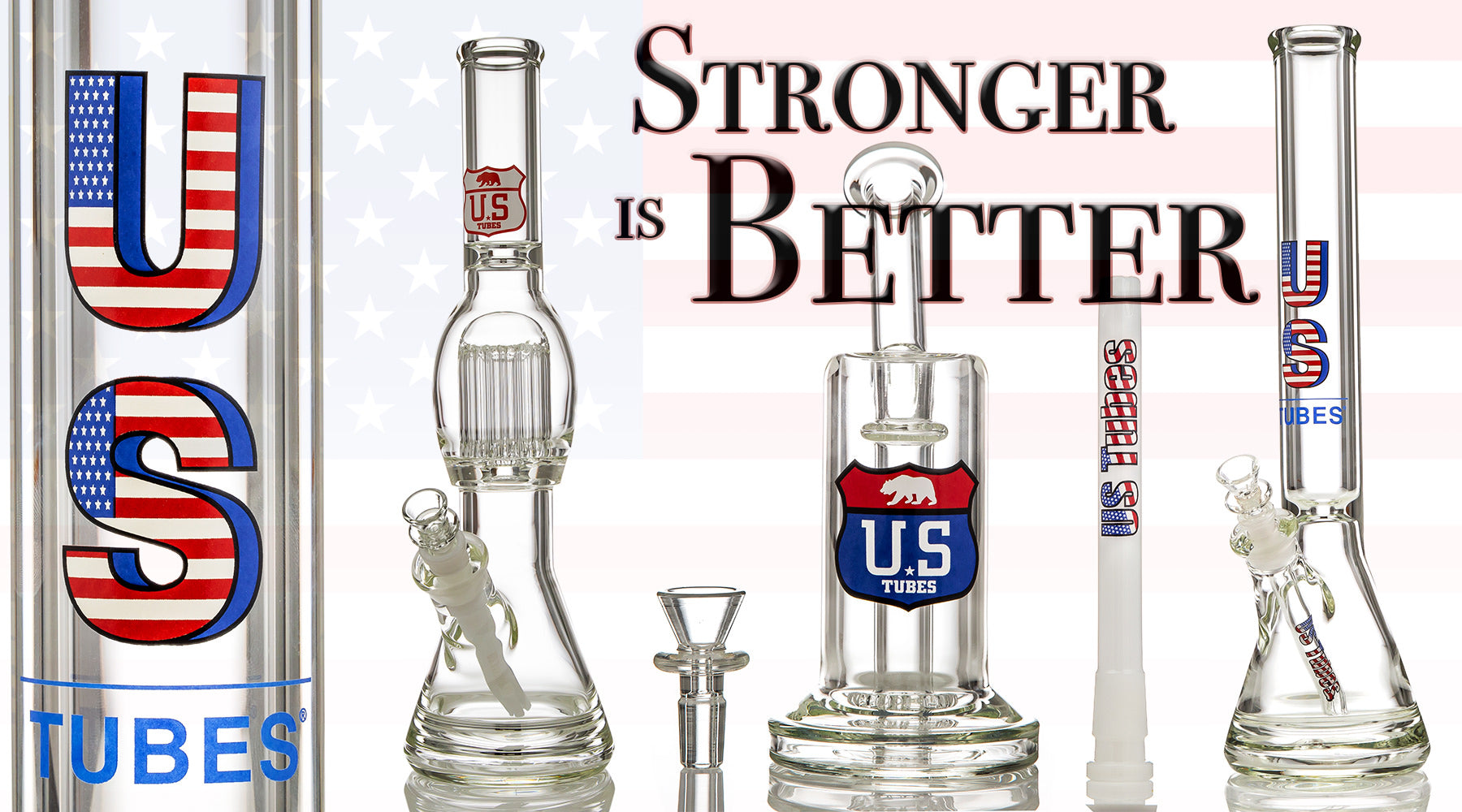 US TUBES Banner Image, Stronger is Better