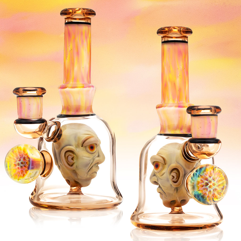Mr. Voorhees Head in a Bottle HIB