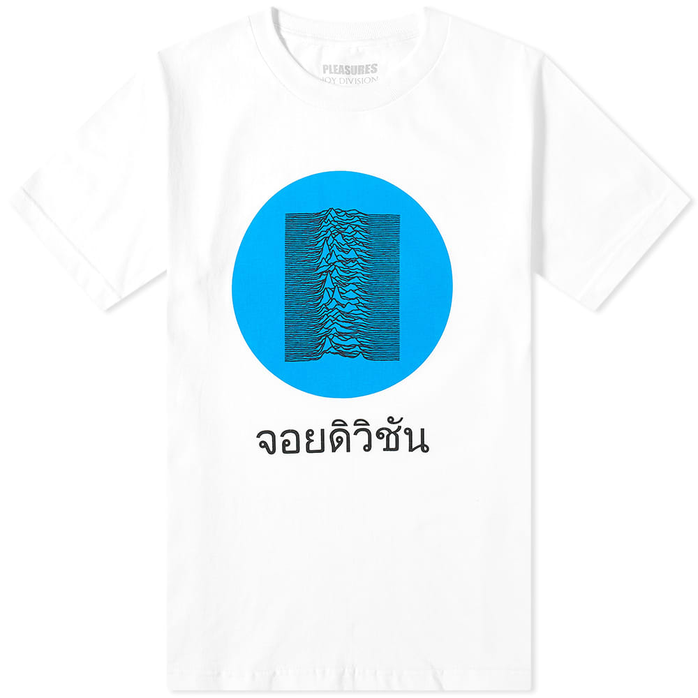 Pleasures x Joy Division Global Short Sleeve Shirt (White)