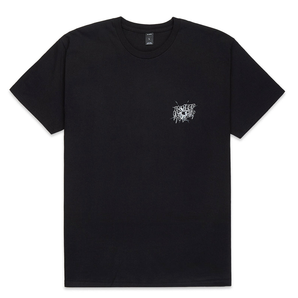 Ricochet Short Sleeve T-Shirt (Black)