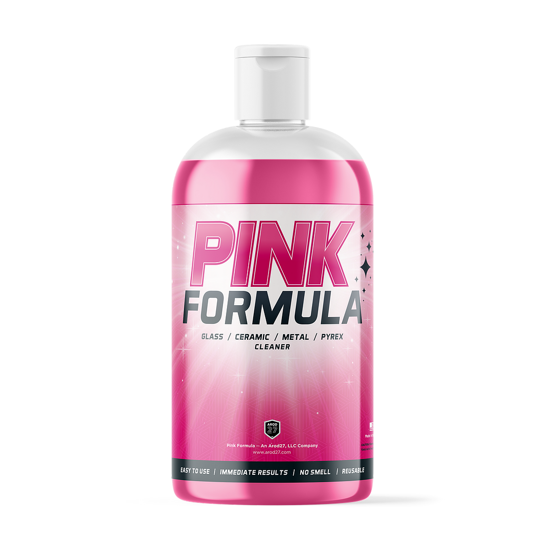 Pink Formula Cleaner 16 oz Bottle