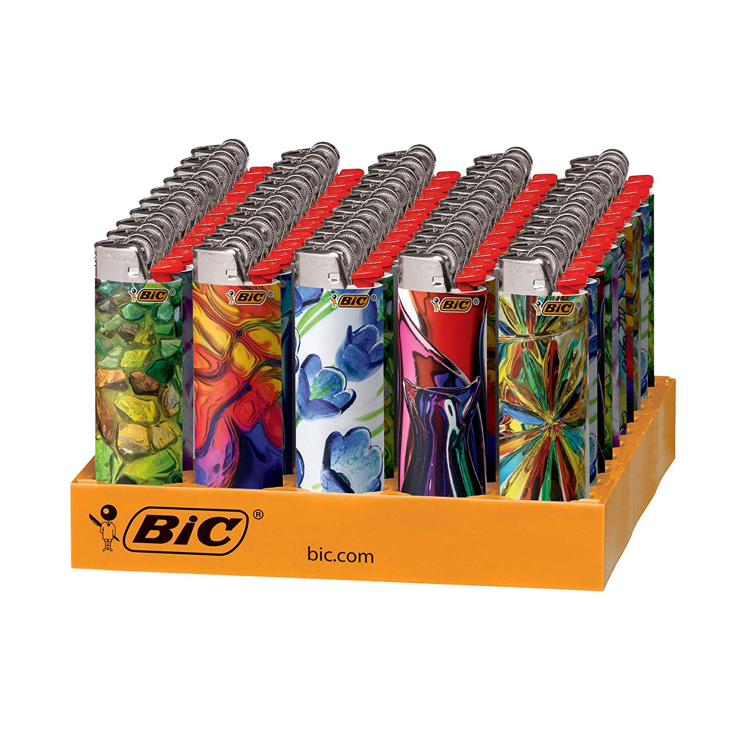 Bic Lighter (Blown Glass)