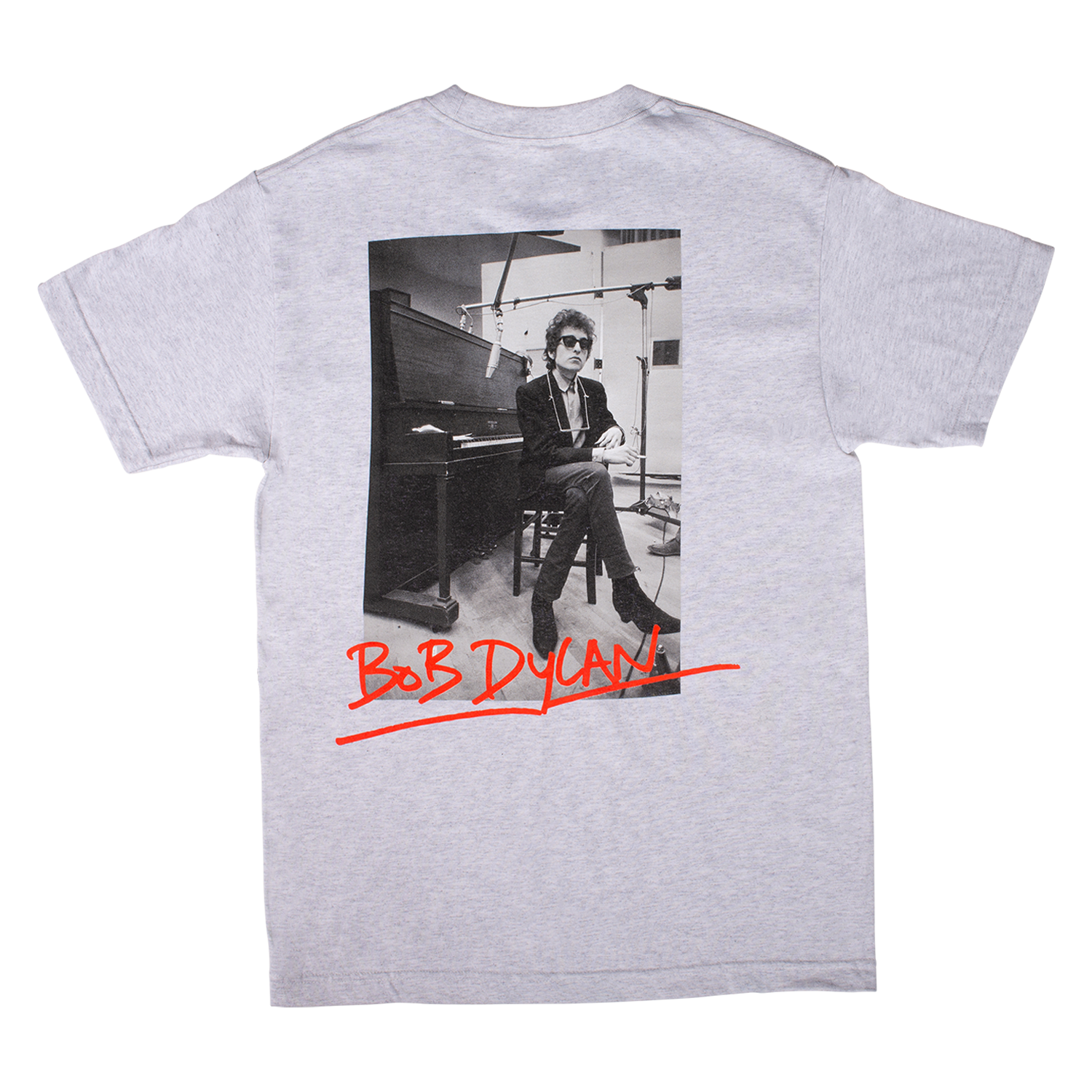 Bob Dylan Heaven's Door Short Sleeve Shirt (Ash Grey)