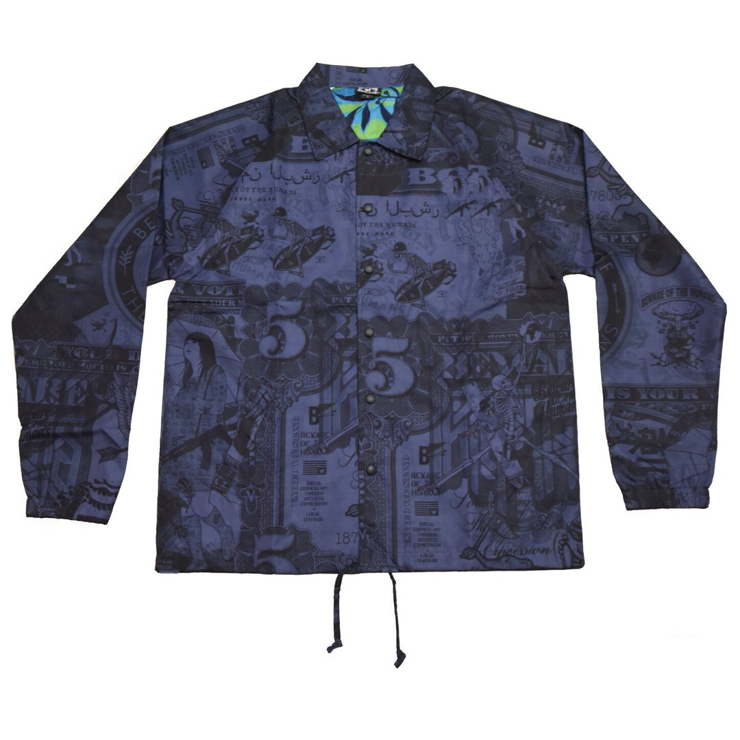BOTH All Over Coaches Jacket (Blue)