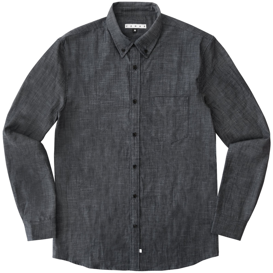 Antique Chambray Button Up - CAMAR