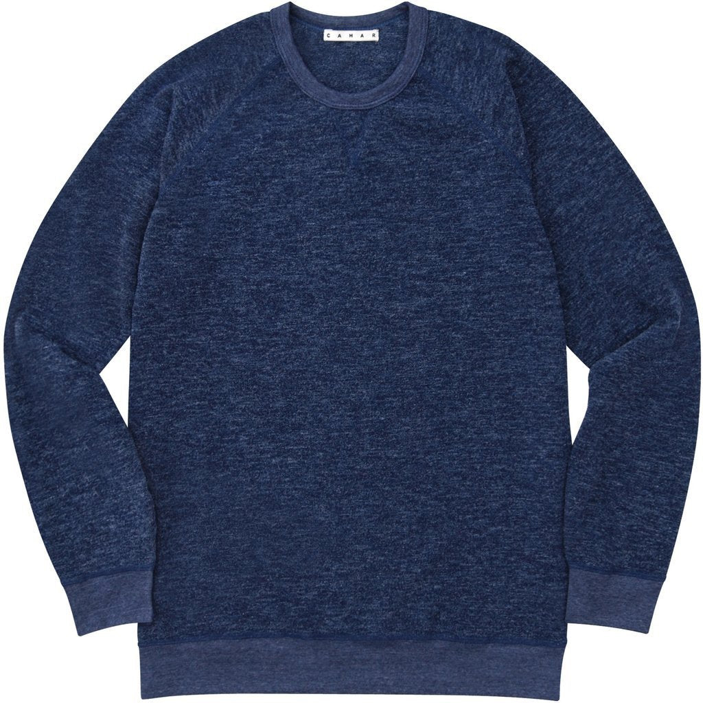 Sweater Crew (Heather Navy)