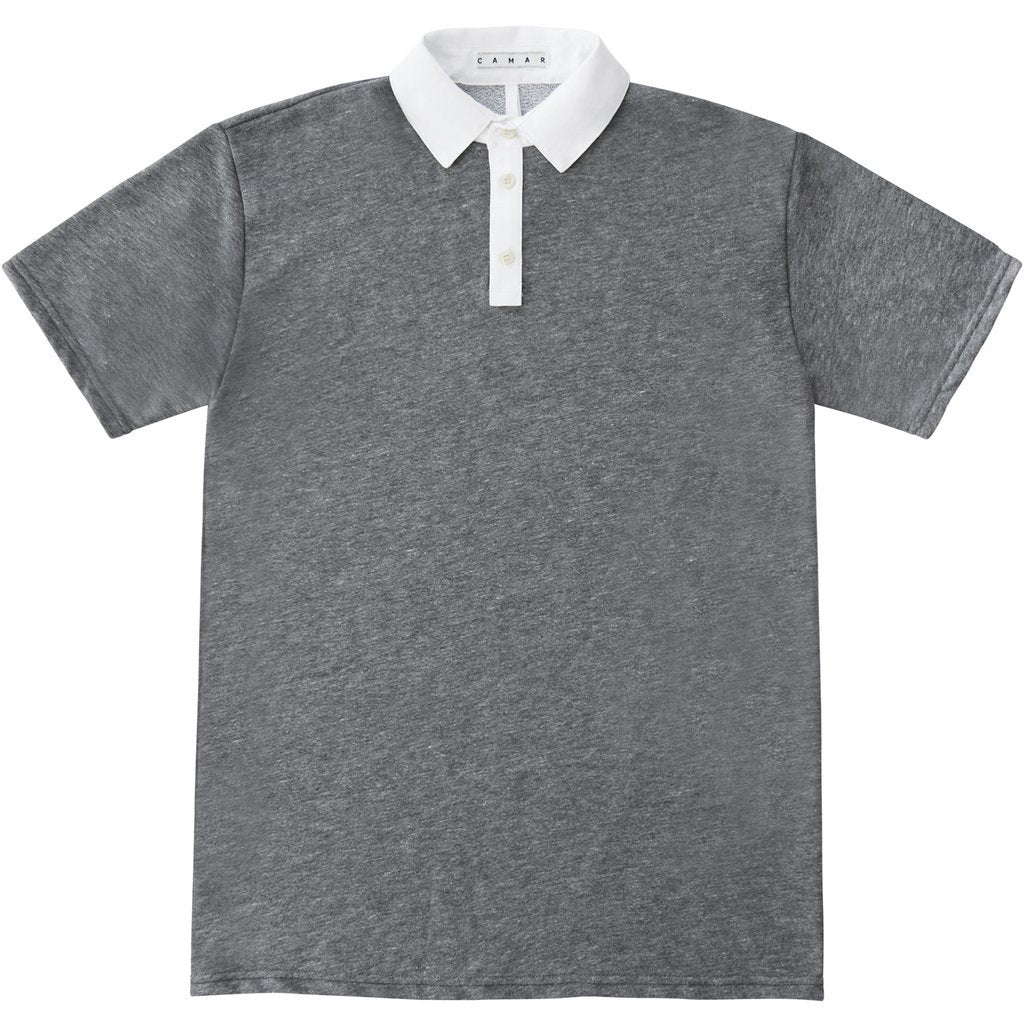Curt Polo (Heather Charcoal)