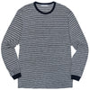 LS Blue Stripe Shirt (Heather/Navy)