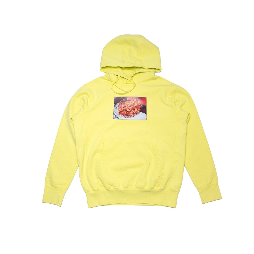 Pizza Hoodie (Lime)