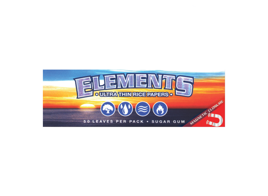 Elements Ultra Thin Rice Papers (1 1/4)