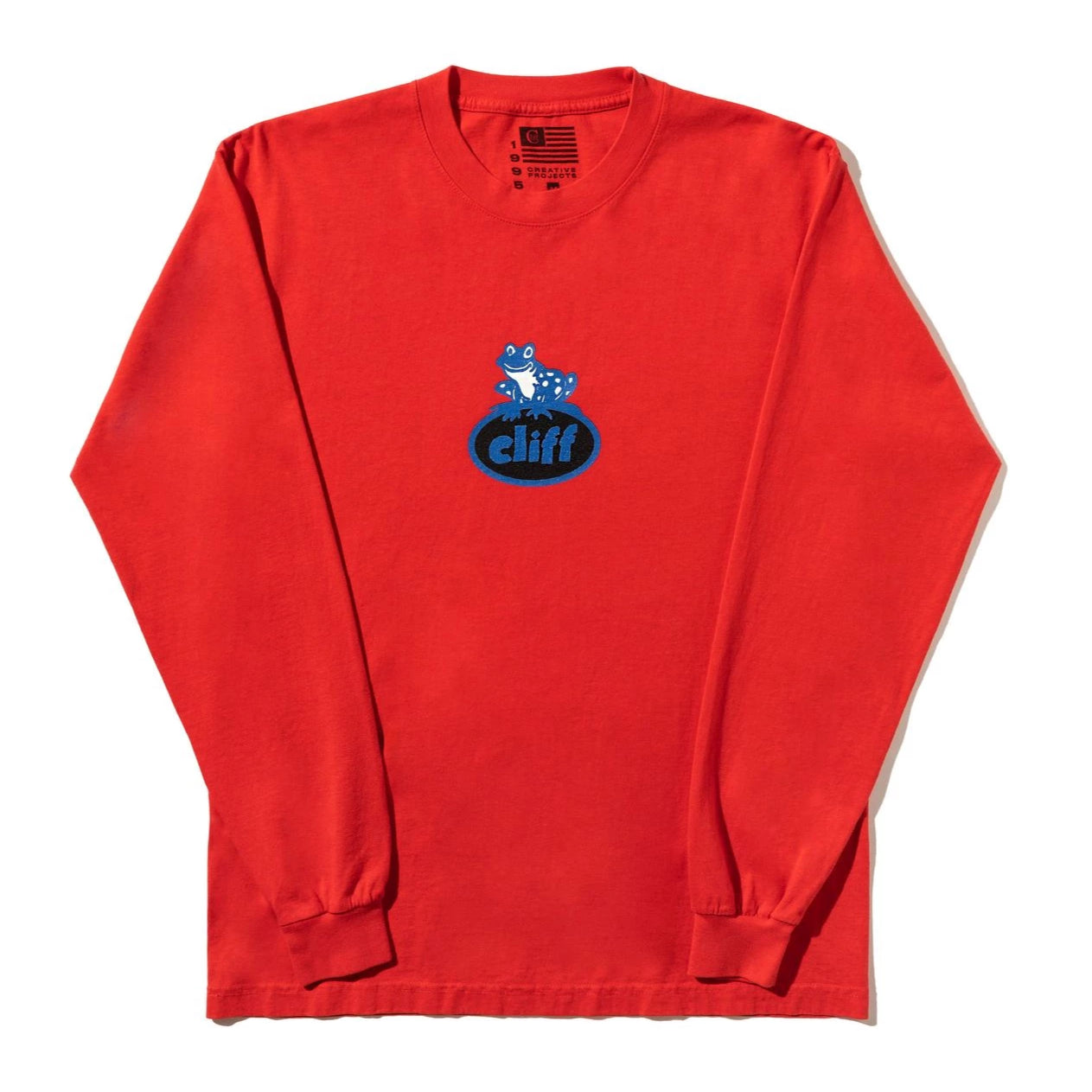 Frog Long Sleeve Shirt (Red)