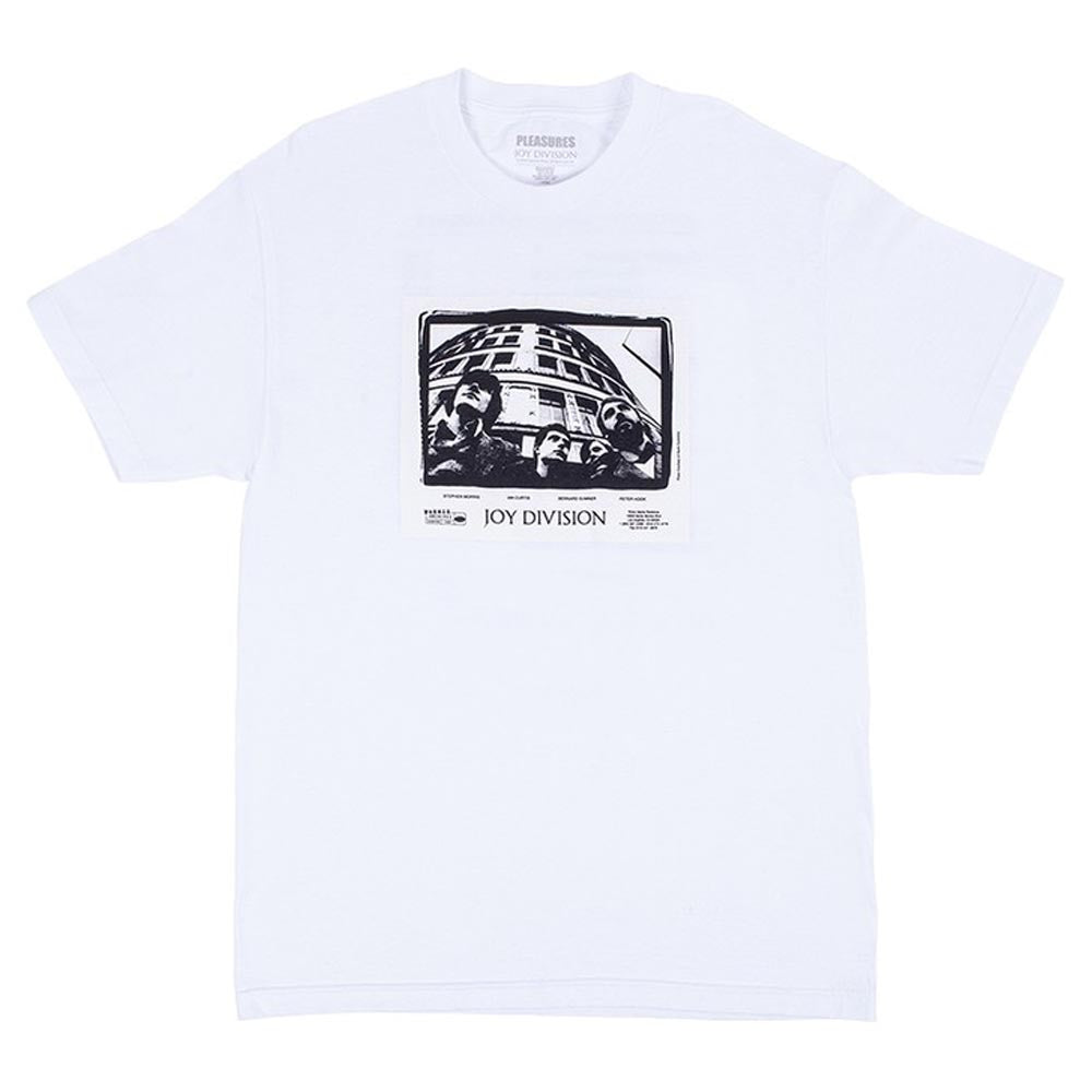 Pleasures x Joy Division Band Short Sleeve Shirt (White)