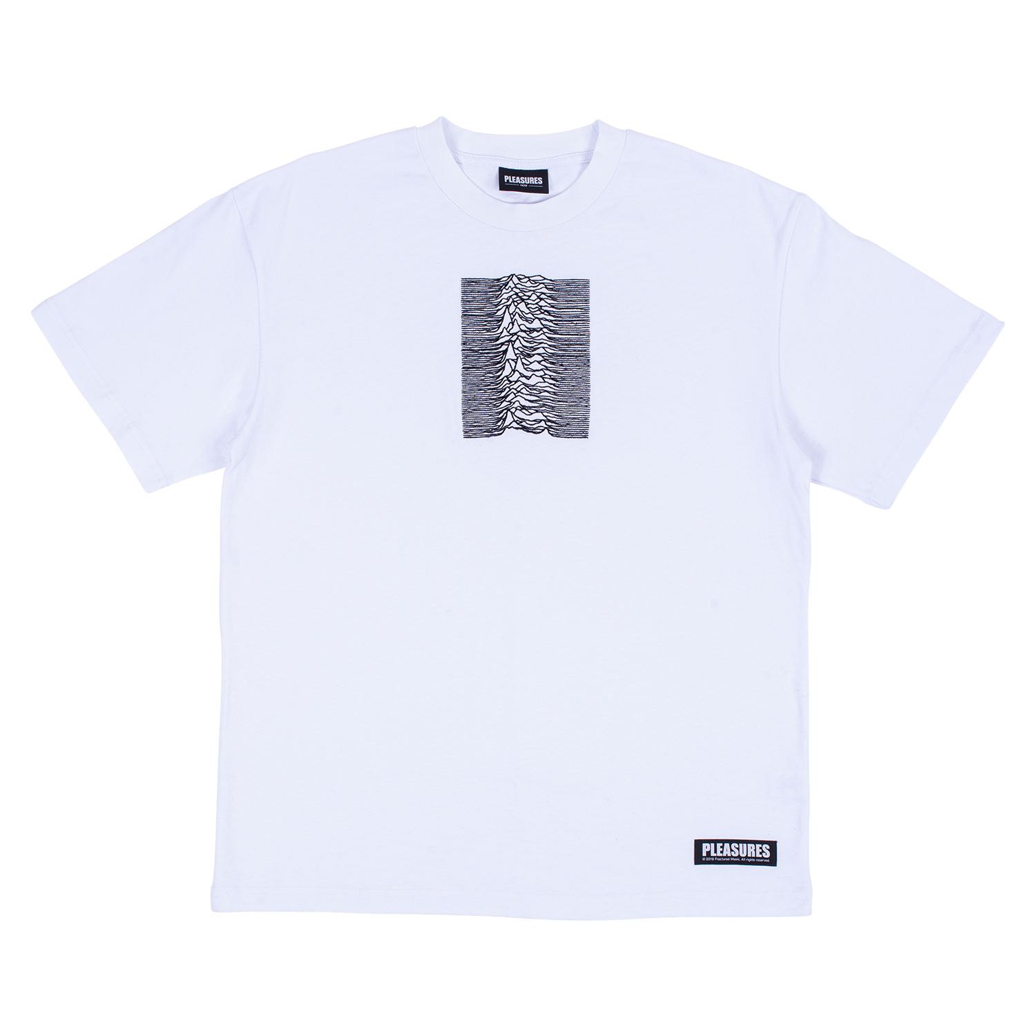 Pleasures x Joy Division Shadowplay Heavyweight Short Sleeve Shirt (White)