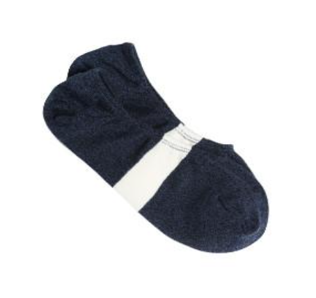 No-show Loafer Sock (Navy)
