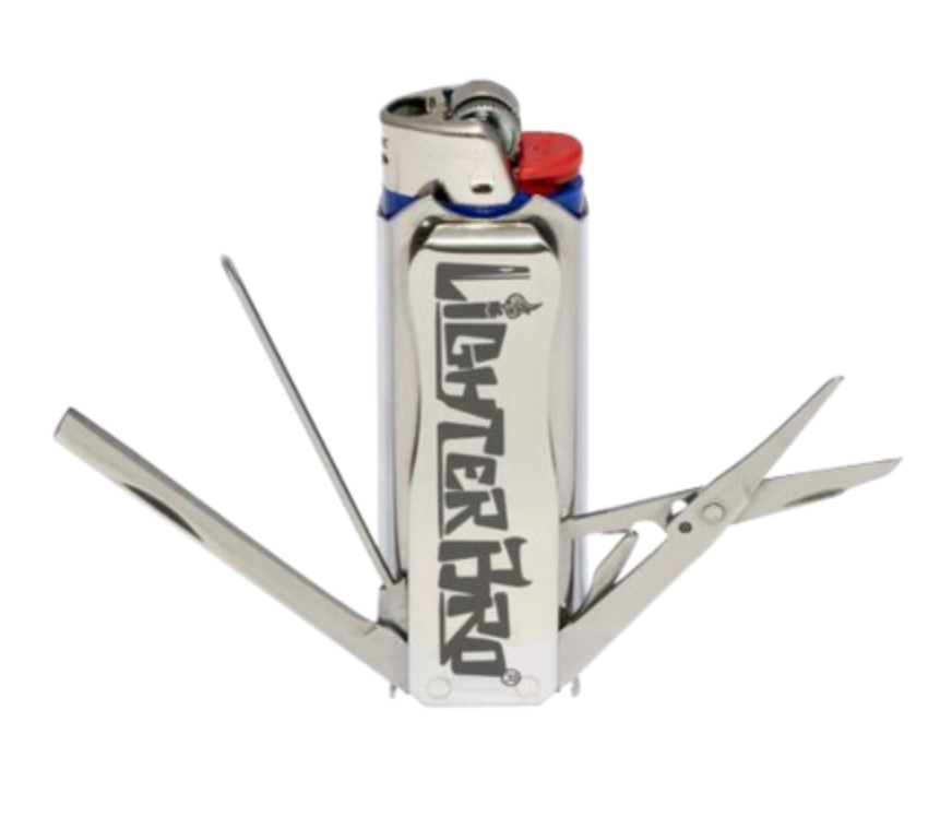 LighterBro Classic Lighter Tool - Silver