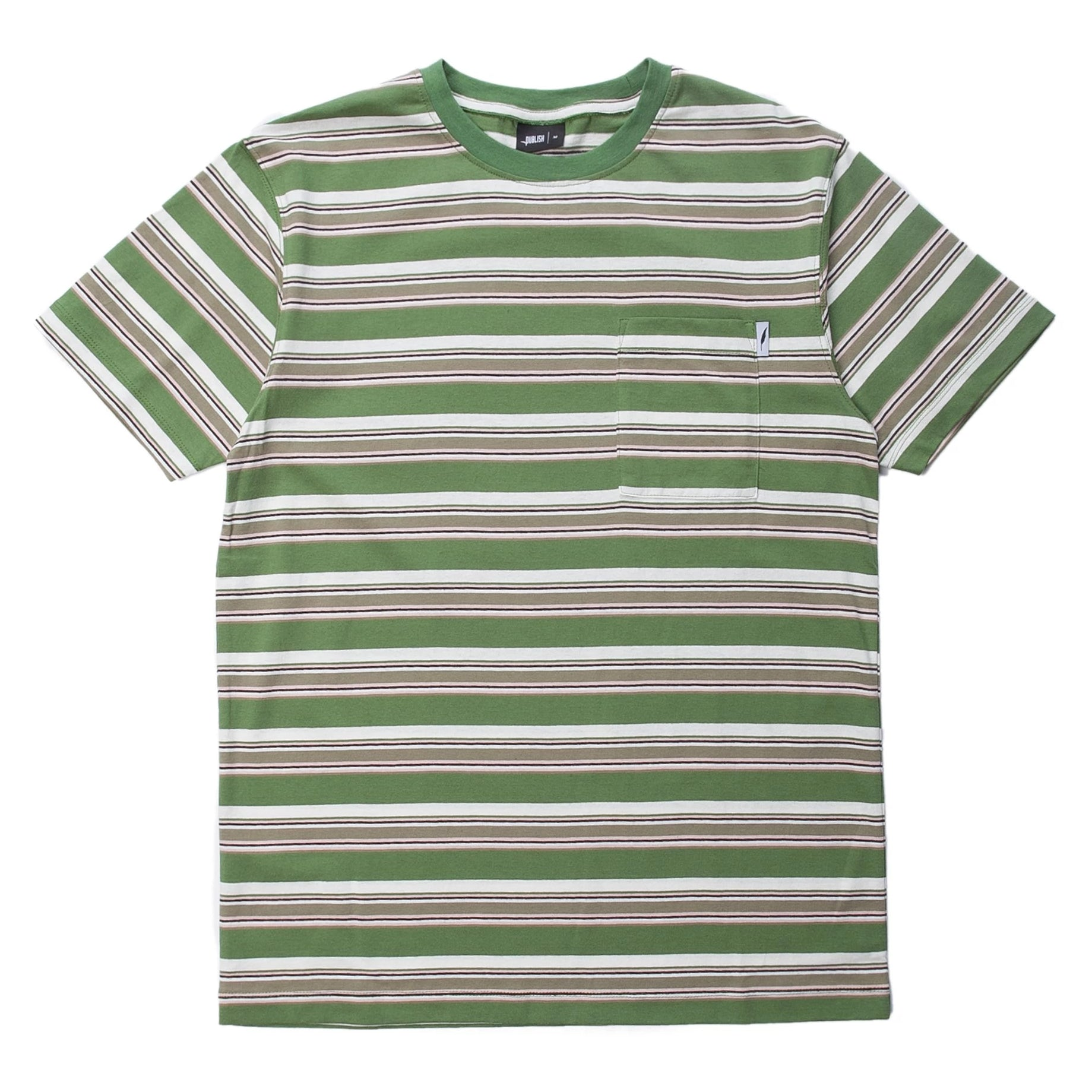 Aguie Short Sleeve Shirt (Green)