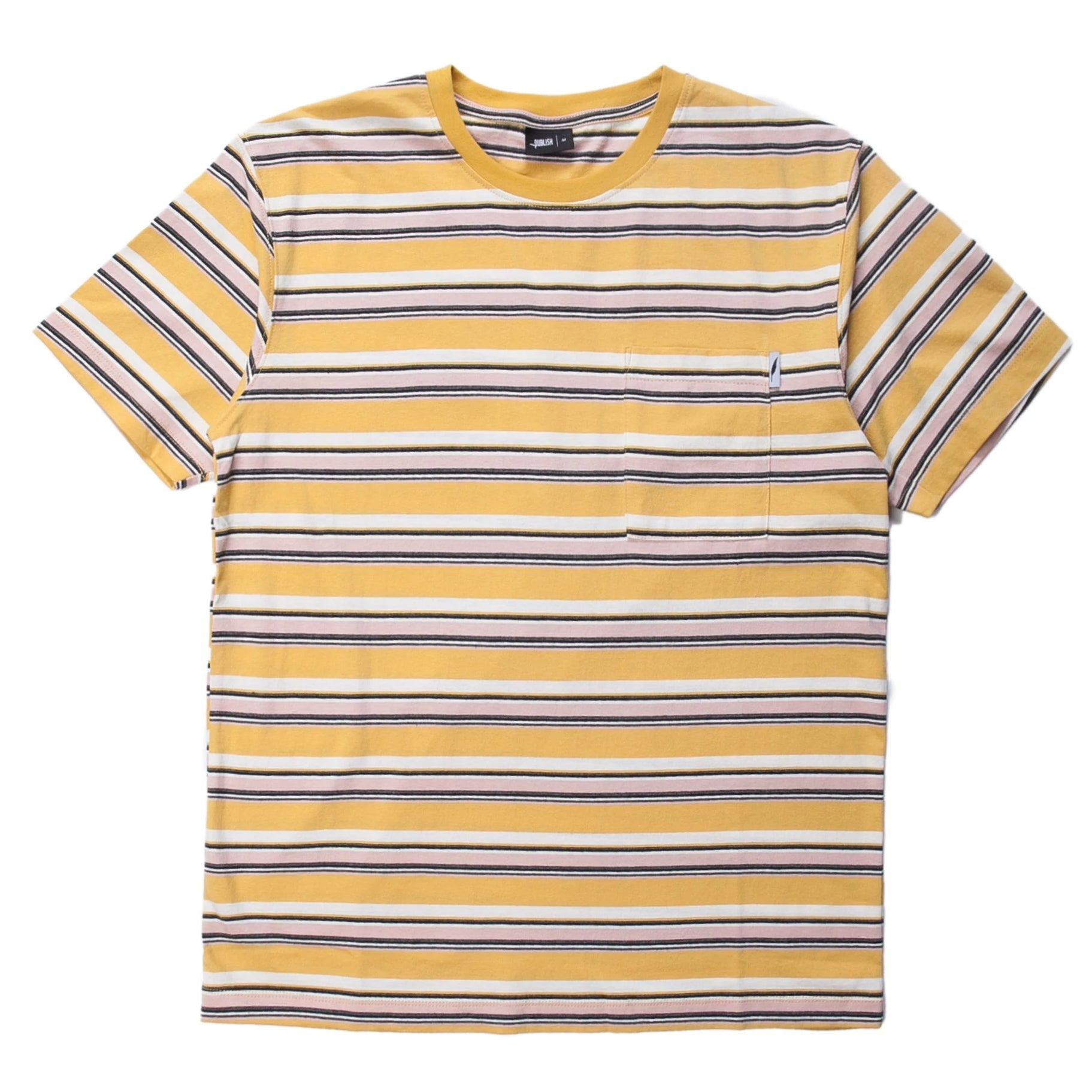 Aguie Short Sleeve Shirt (Yellow)