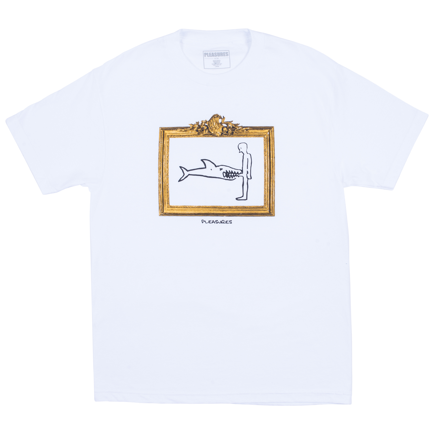 Pleasures Bite T-Shirt (White)
