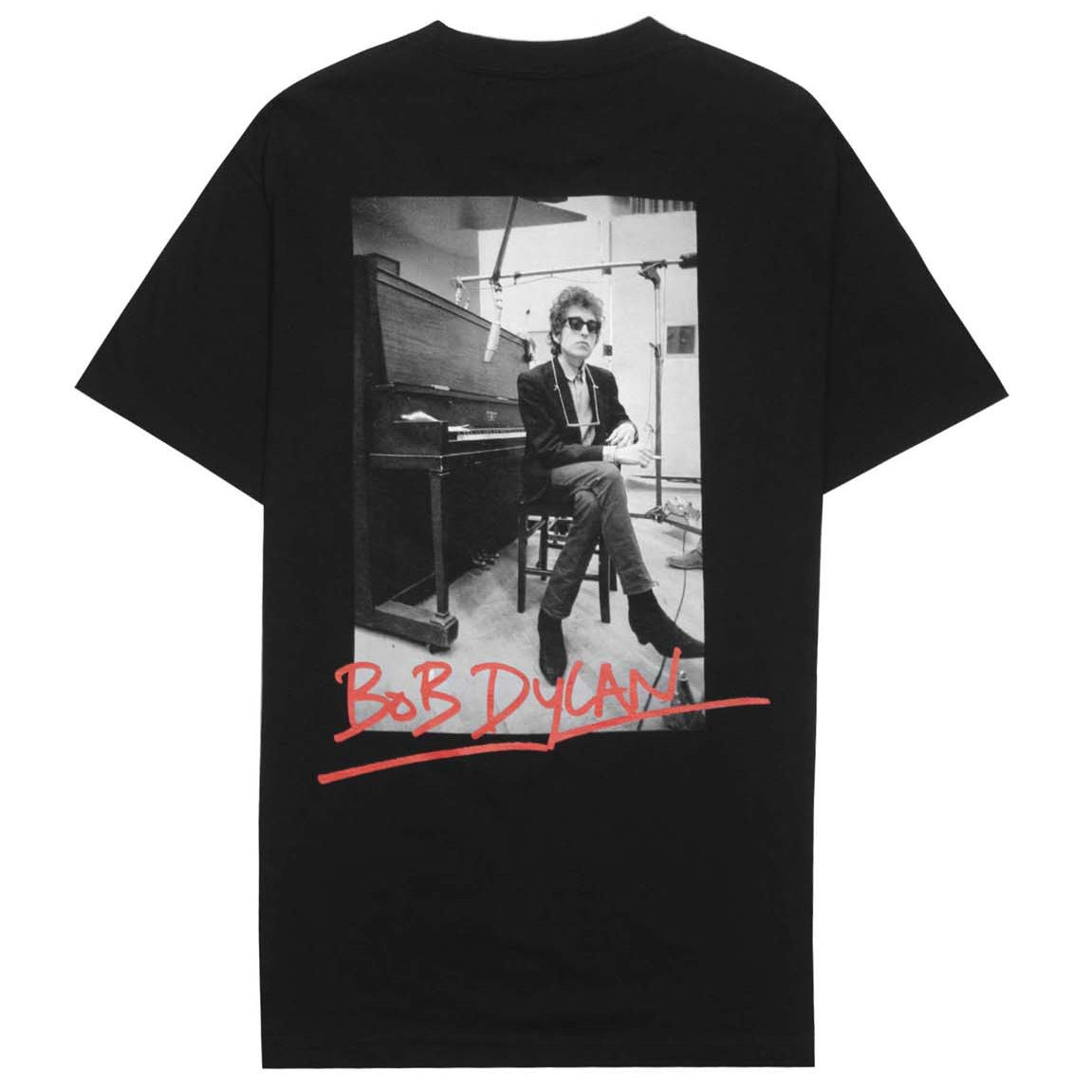 Bob Dylan Heaven's Door Short Sleeve Shirt (Black)