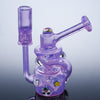 Purple Lilac Milli Marble Dime Piece Recycler Collab
